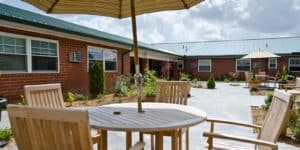 courtyard tables