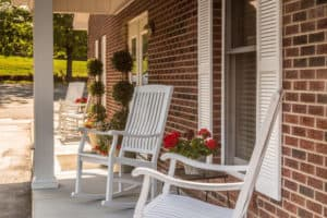 outside rocking chairs