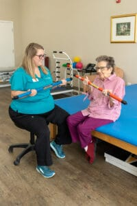 resident physical therapy